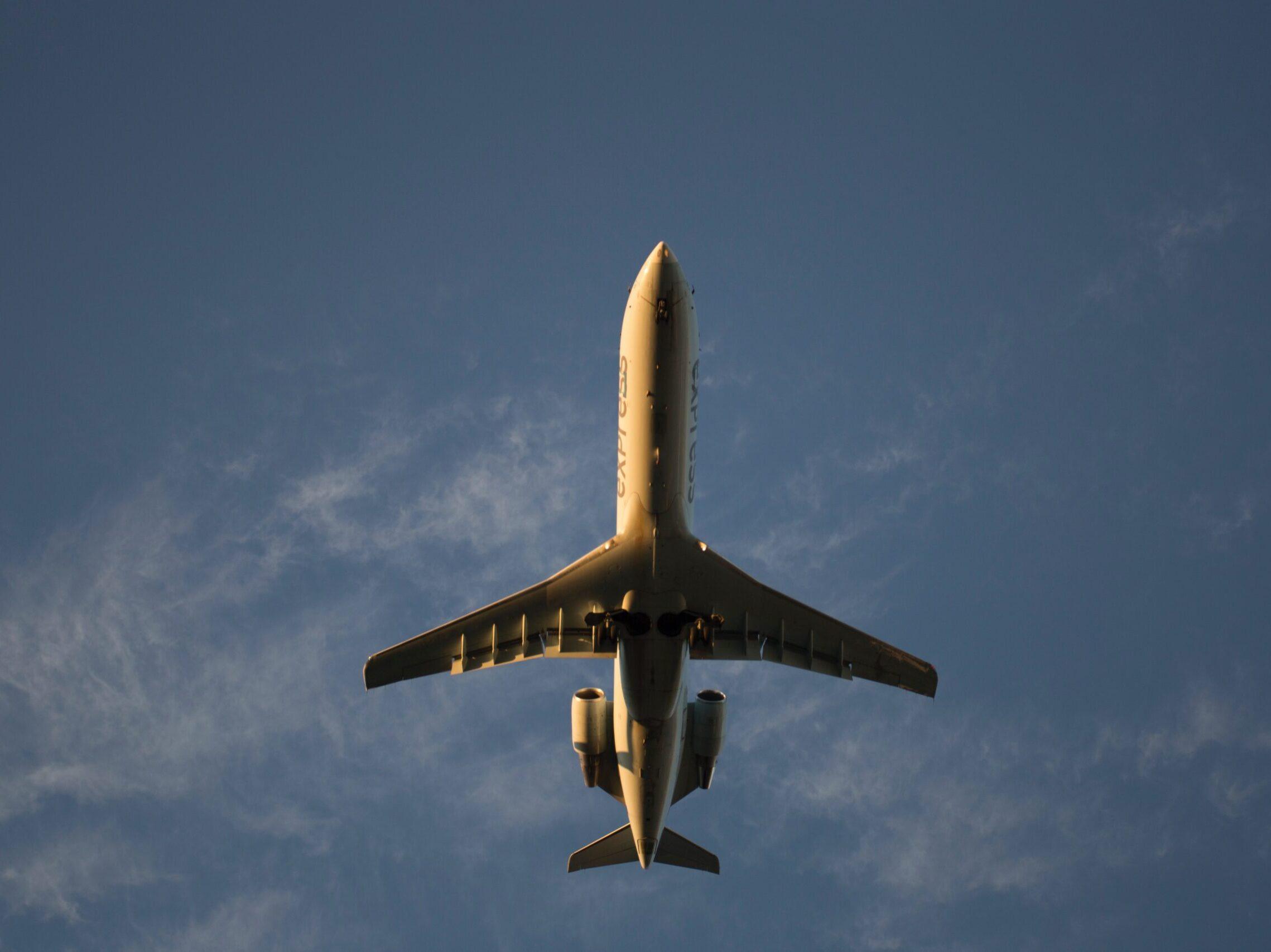 brown airplane